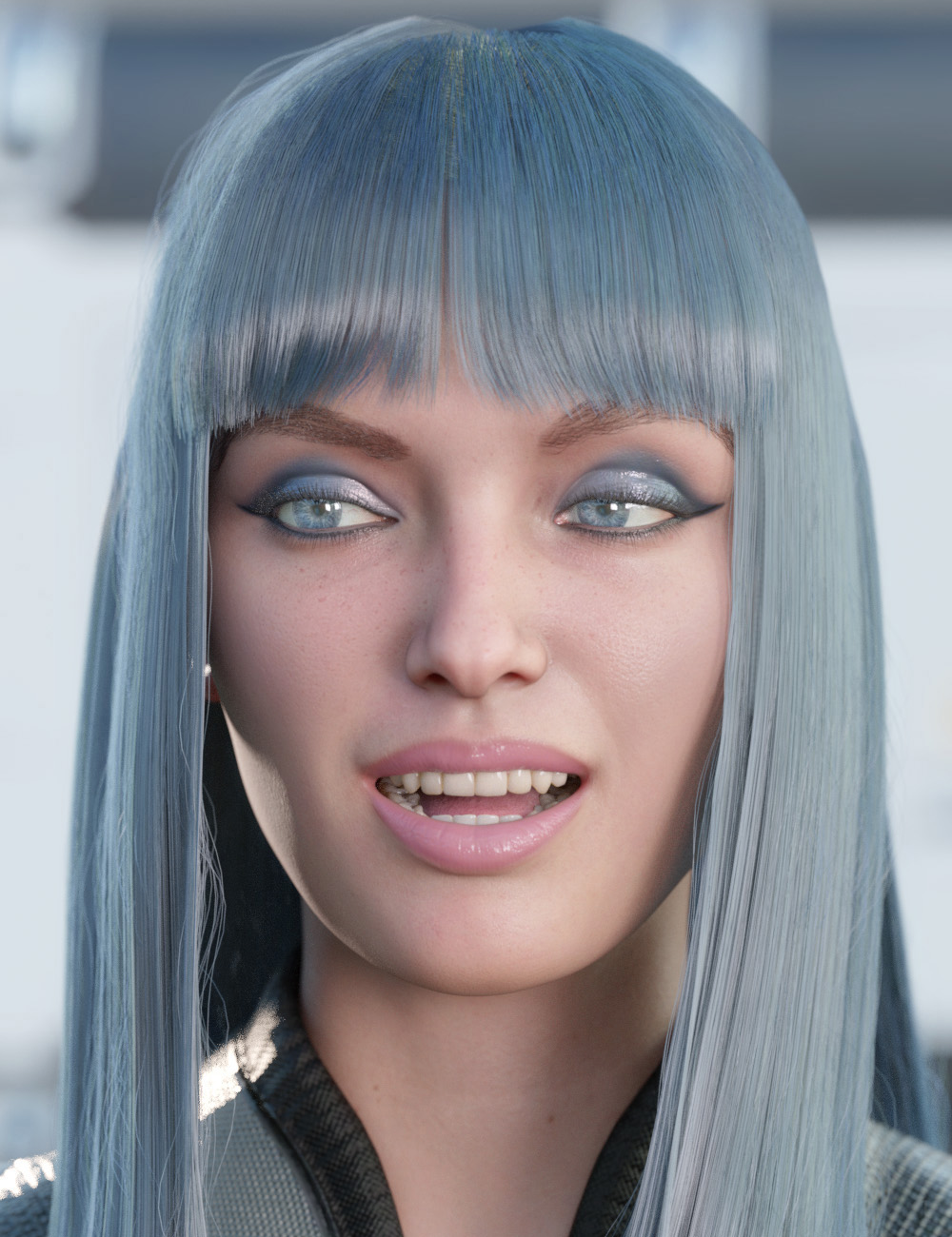 Ultimate PBR Shader Makeup for Genesis 8.1 Females by: PhilW, 3D Models by Daz 3D