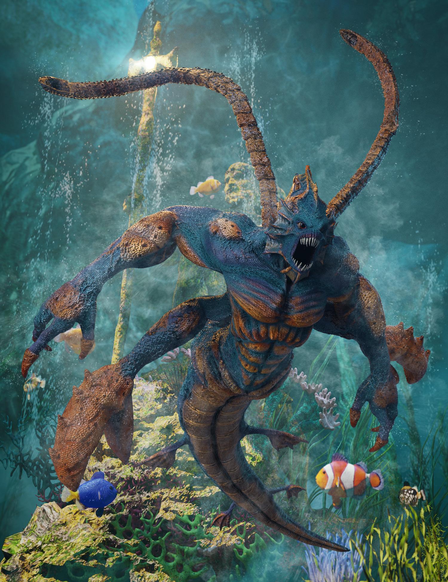 Sea Villain Bundle by: , 3D Models by Daz 3D