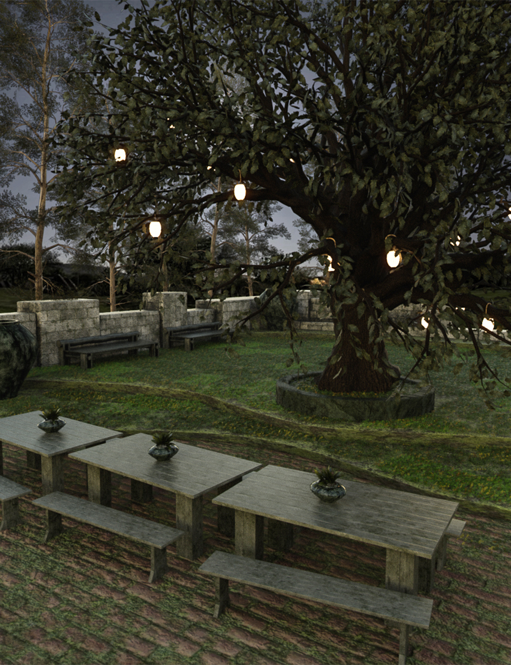Enchanting Dining by: clacydarch3d, 3D Models by Daz 3D