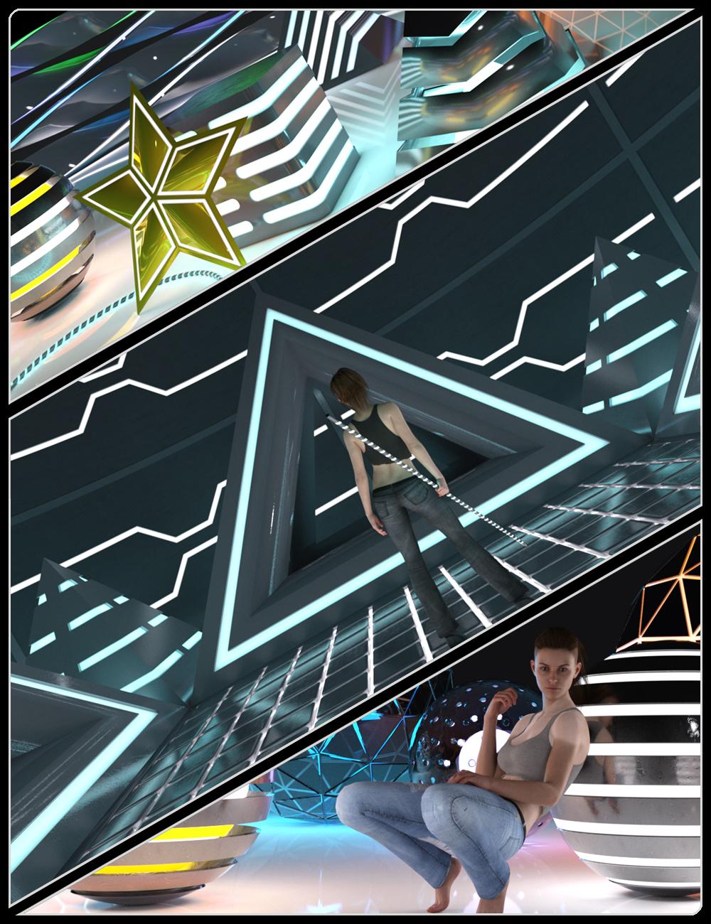 FM Glowing Things by: Flipmode, 3D Models by Daz 3D