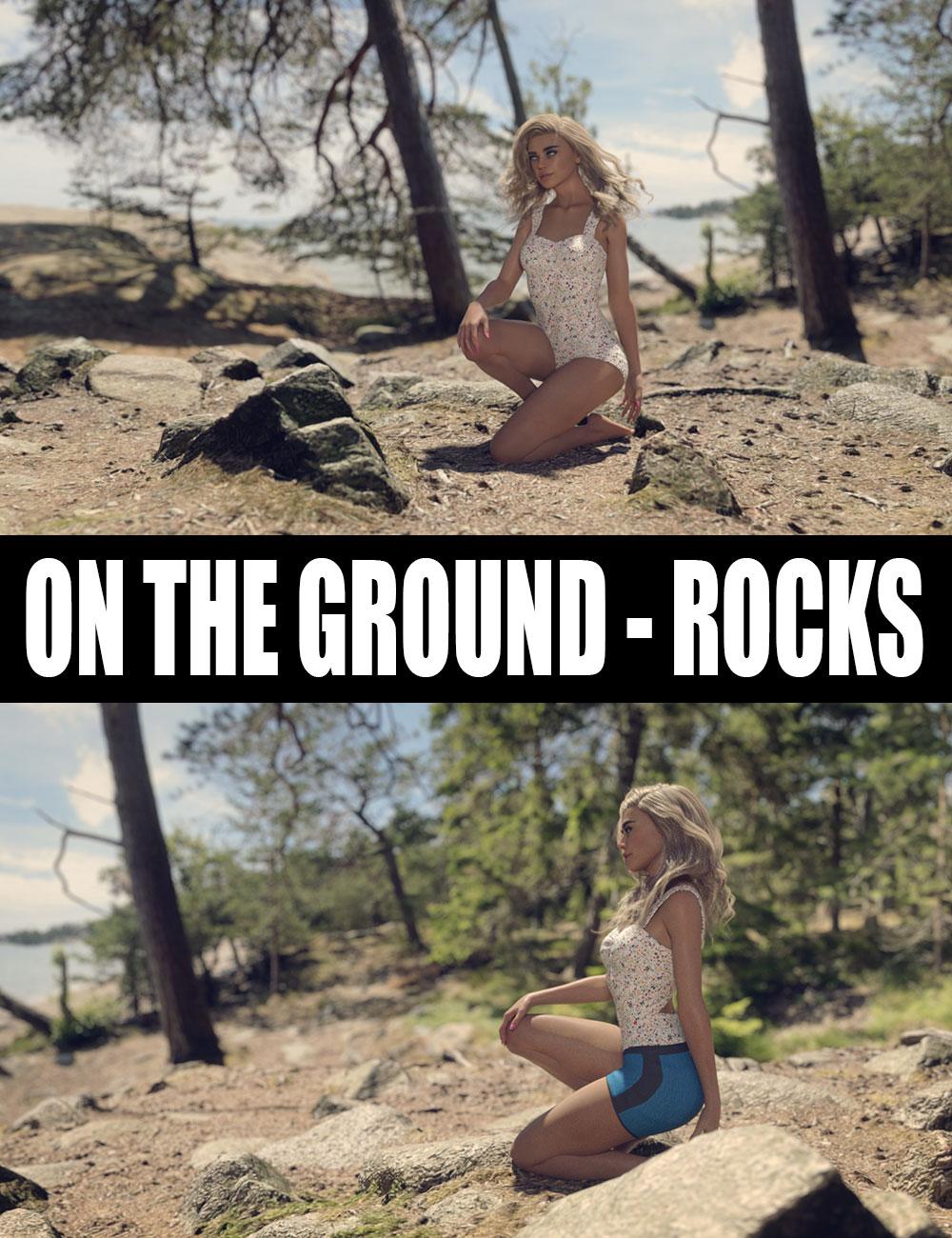 On The Ground - Rocks by: Dreamlight, 3D Models by Daz 3D