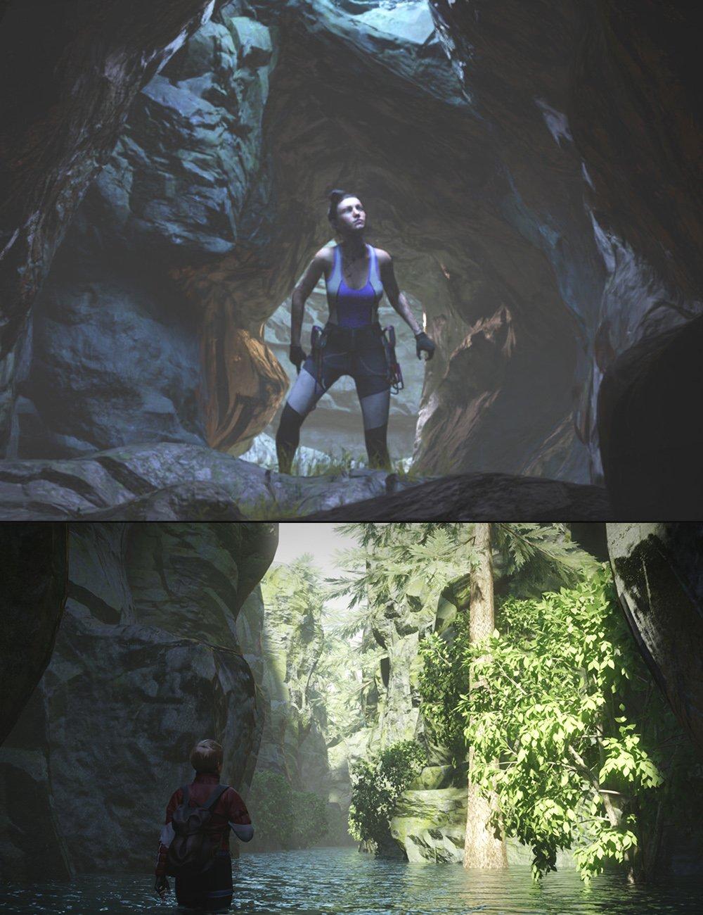 KA Modular Caverns by: KindredArts, 3D Models by Daz 3D