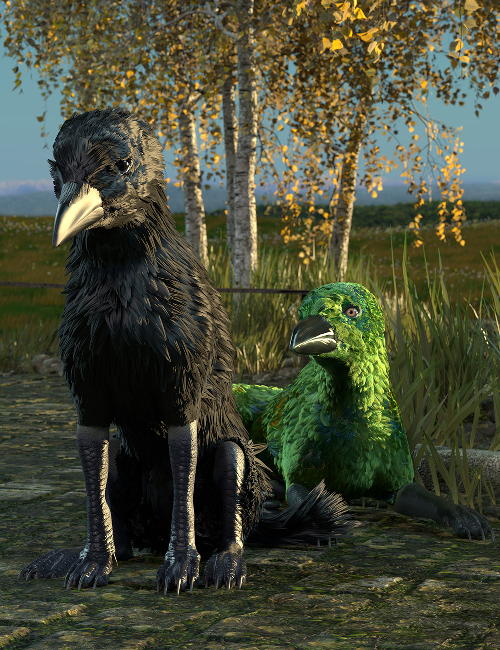 Crowulf for Daz Dog 8 by: Oso3D, 3D Models by Daz 3D