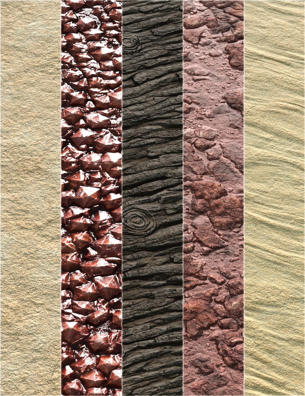 Desert Tribe Textures - Merchant Resource by: vikike176, 3D Models by Daz 3D
