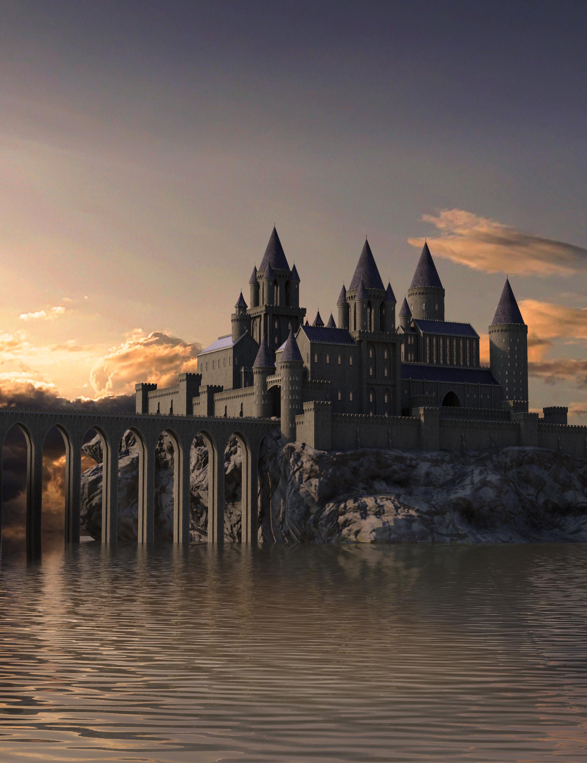 Castle Creator For Daz Studio by: BradCarsten, 3D Models by Daz 3D