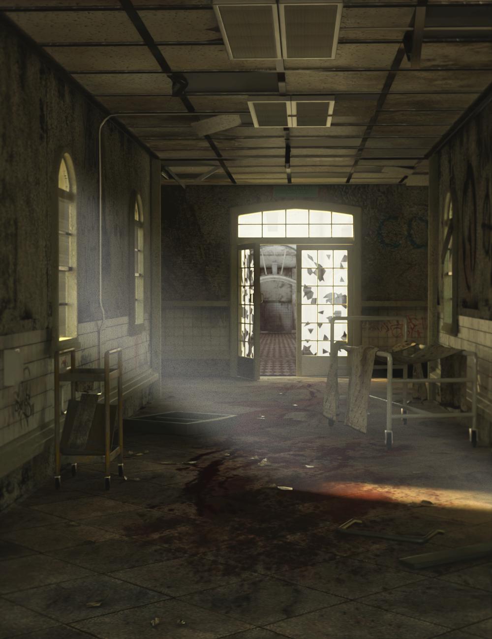 Abandoned Asylum by: PerspectX, 3D Models by Daz 3D