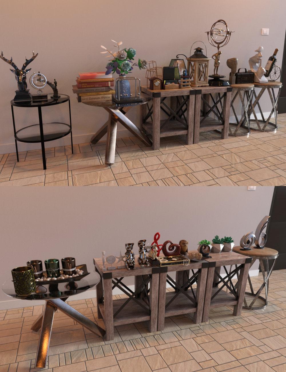 FG Table Top Trinkets by: IronmanFugazi1968, 3D Models by Daz 3D