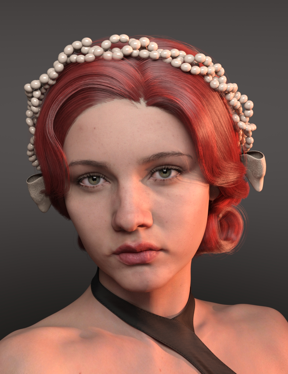 Ler Hair for Genesis 8 and 8.1 Females by: Ergou, 3D Models by Daz 3D