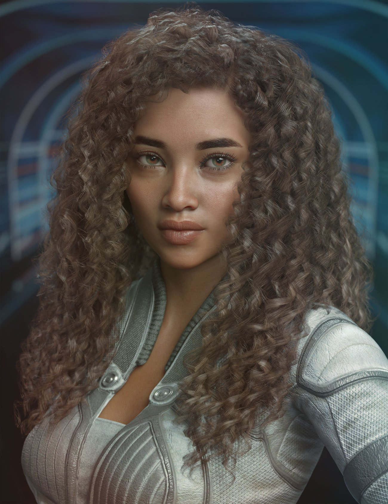 Daiosa Hair for Genesis 3, 8, and 8.1 Females by: AprilYSH, 3D Models by Daz 3D