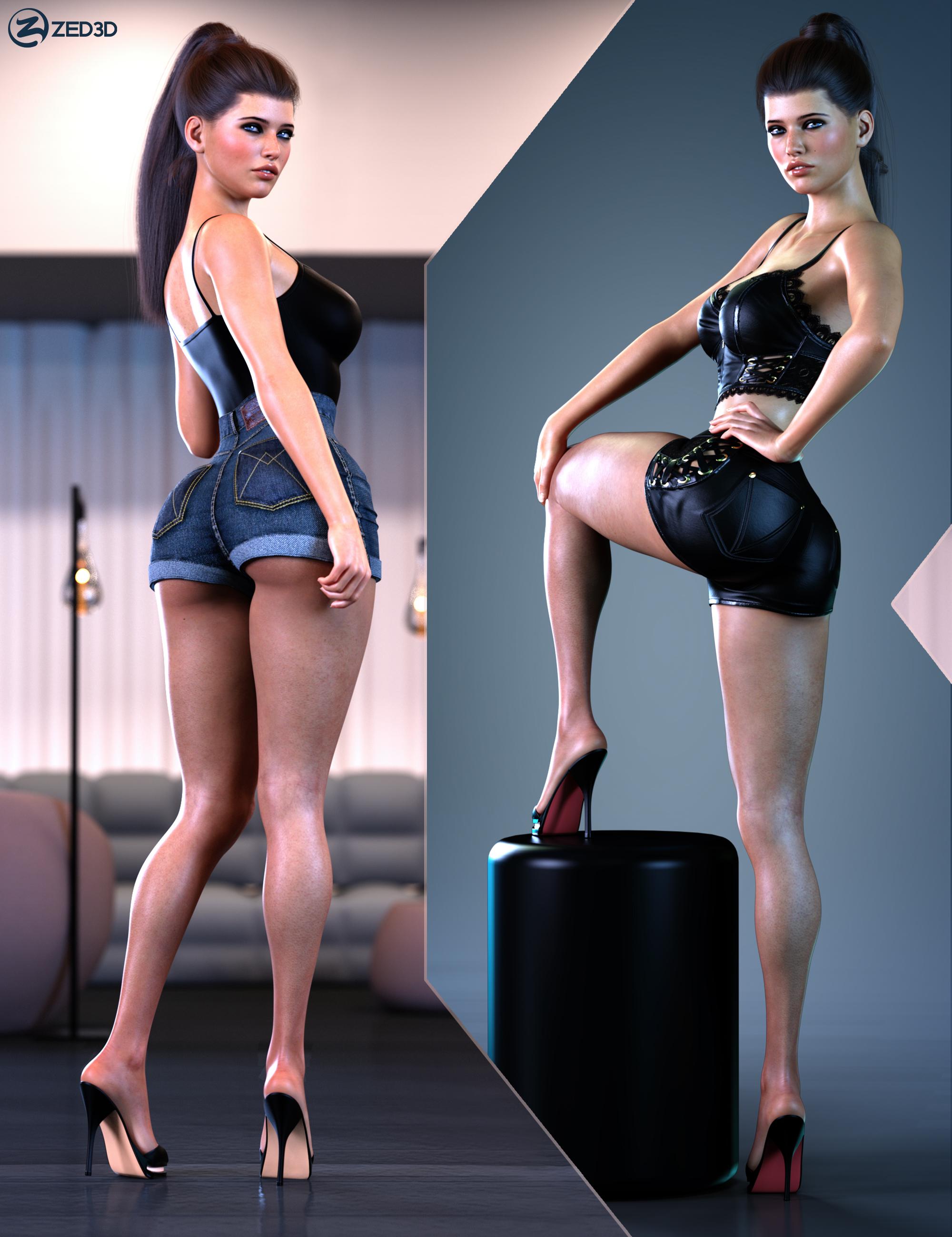 Z Glamorous Leg Shapes and Pose Mega Set by: Zeddicuss, 3D Models by Daz 3D