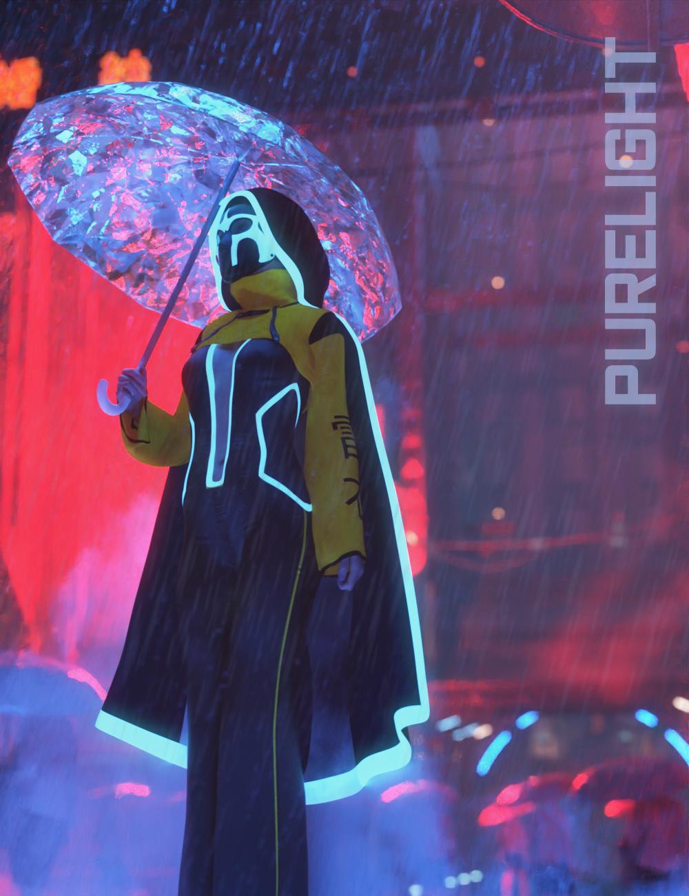 PureLight Cyberpunk by: KindredArts, 3D Models by Daz 3D