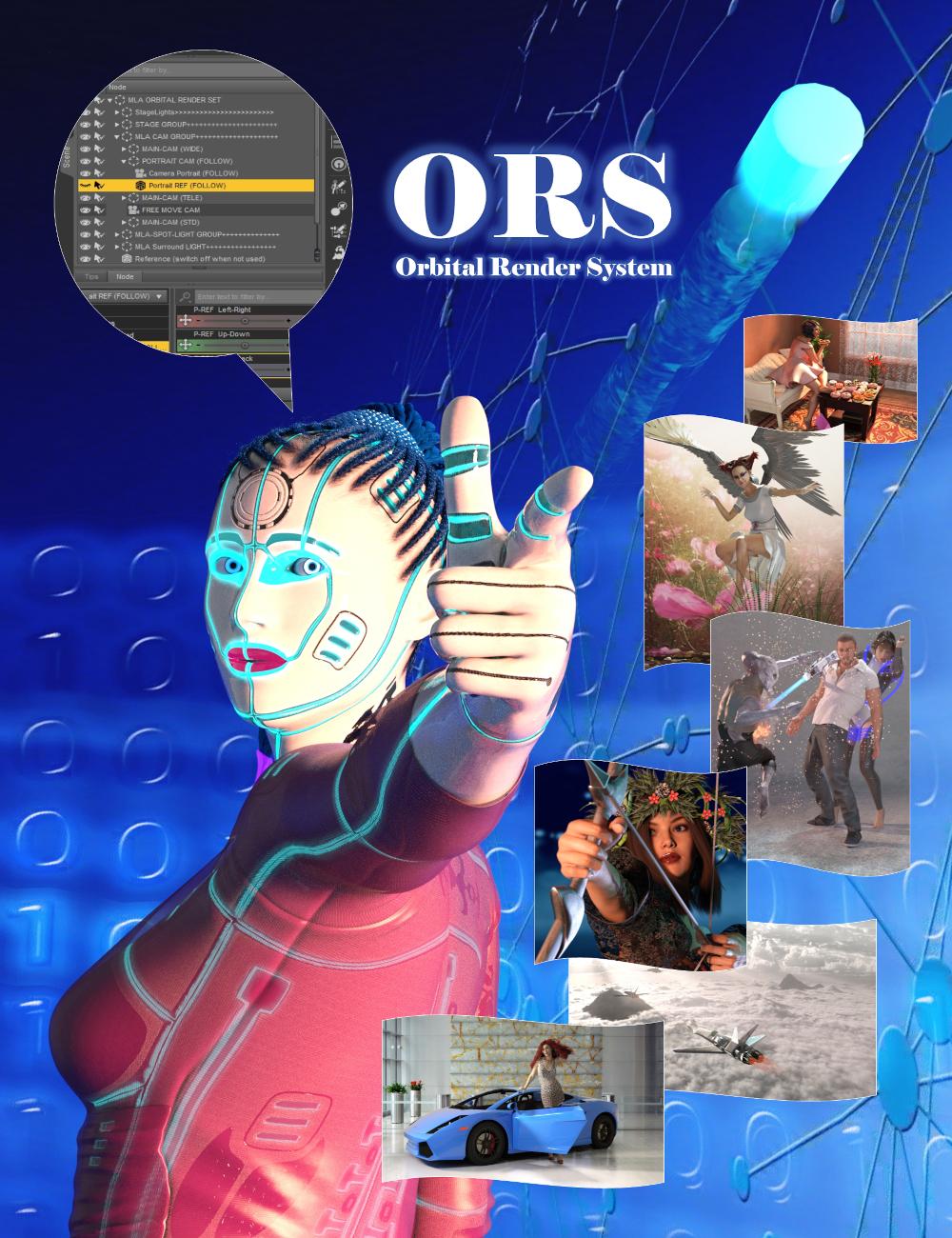 MLA Orbital Render System by: michaleuart, 3D Models by Daz 3D