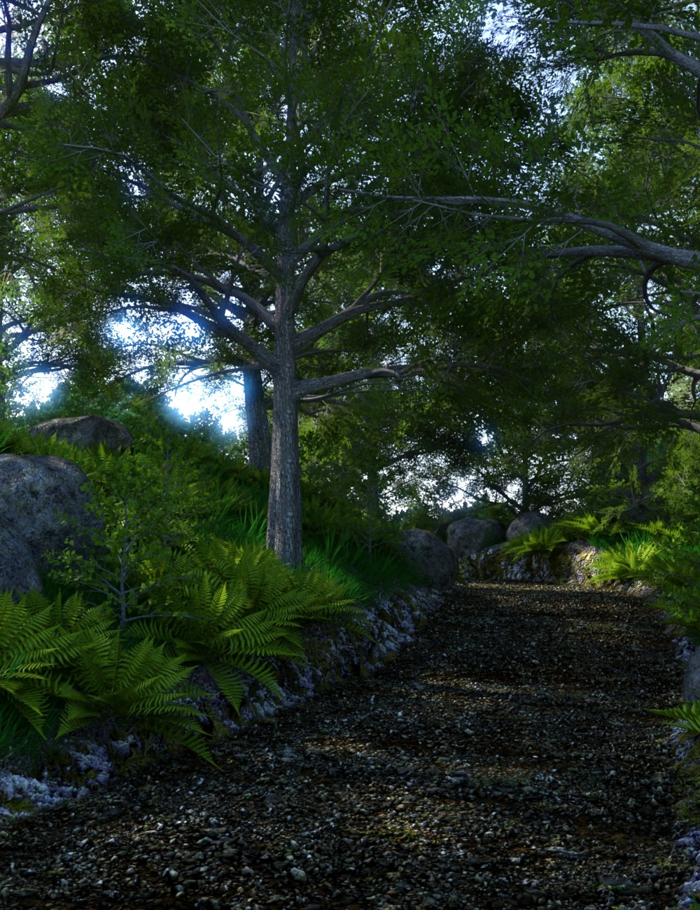 The Trail by: JeffersonAF, 3D Models by Daz 3D