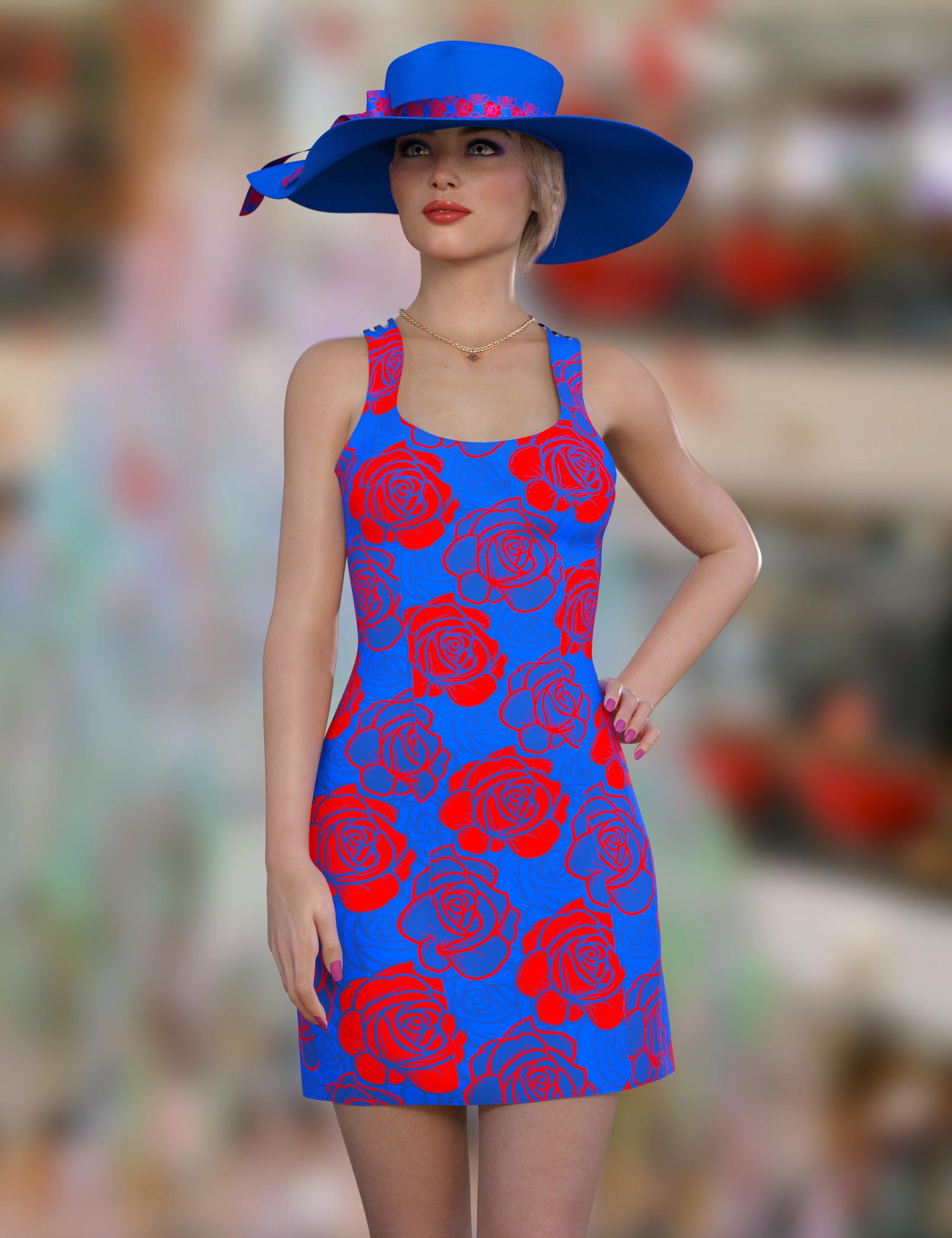 dForce Catie Outfit Texture Expansion by: Nelmi, 3D Models by Daz 3D