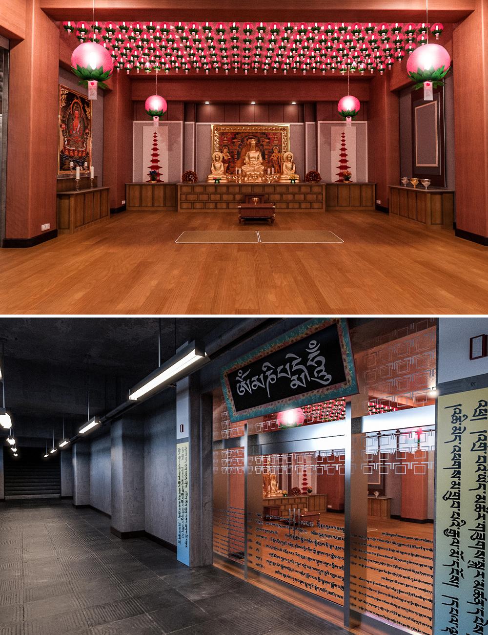 Marriage Temple by: clacydarch3d, 3D Models by Daz 3D