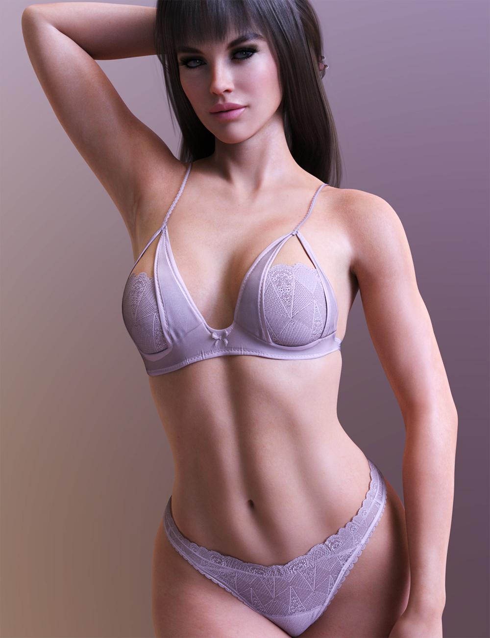 X-Fashion Lightweight Lingerie Set by: xtrart-3d, 3D Models by Daz 3D