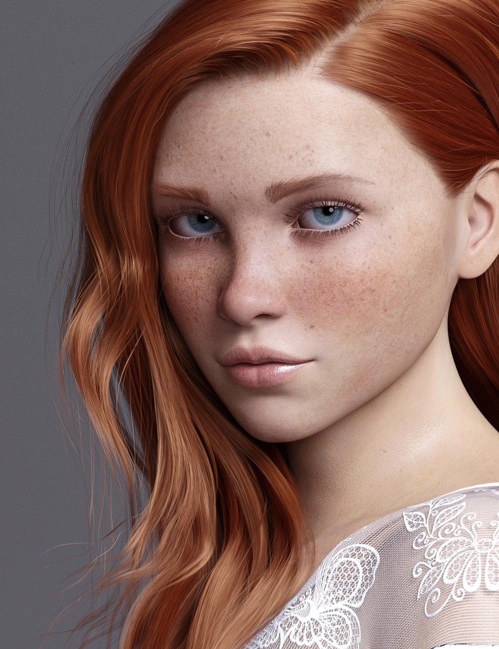 Ziggie For Genesis 8.1 Female by: Colm Jackson, 3D Models by Daz 3D