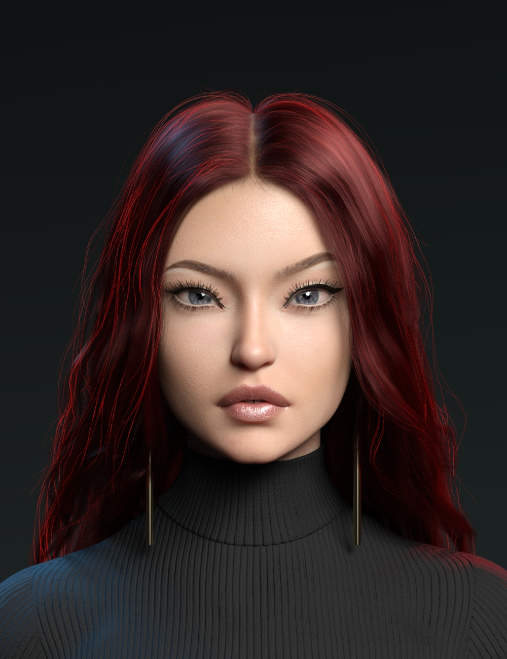 TMA Angel for Genesis 8 and 8.1 Female by: Tomars Animations, 3D Models by Daz 3D