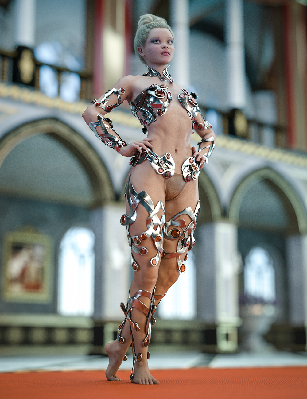 Enchanting Ornaments for Genesis 8 and 8.1 Females by: Aeon Soul, 3D Models by Daz 3D
