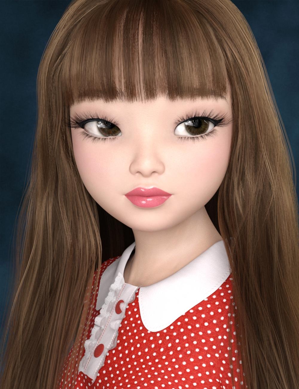 Brigitte for Bugga Boo by: Tsukikawa, 3D Models by Daz 3D