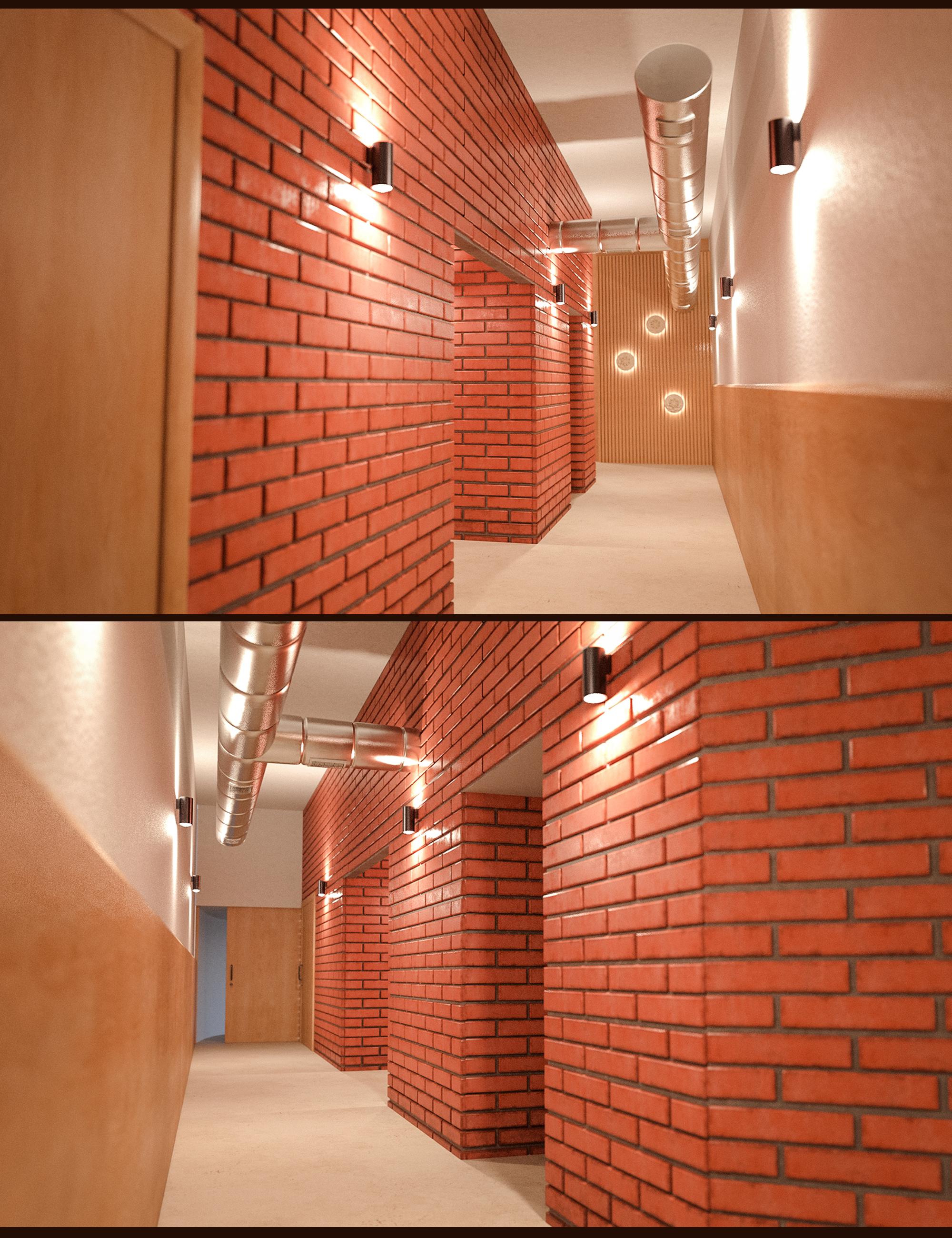 Yoga Club Corridor by: Polish, 3D Models by Daz 3D