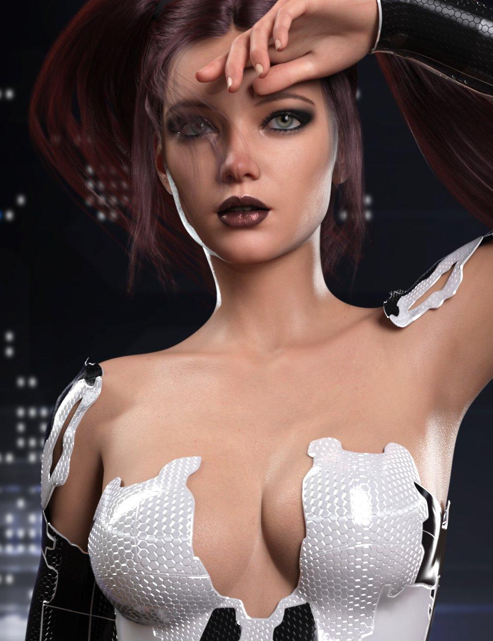 RY Xara for Genesis 8.1 Female by: Raiya, 3D Models by Daz 3D