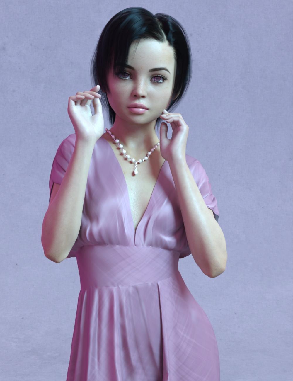 Scarlett Teen for Genesis 8 Female by: Exart3D, 3D Models by Daz 3D