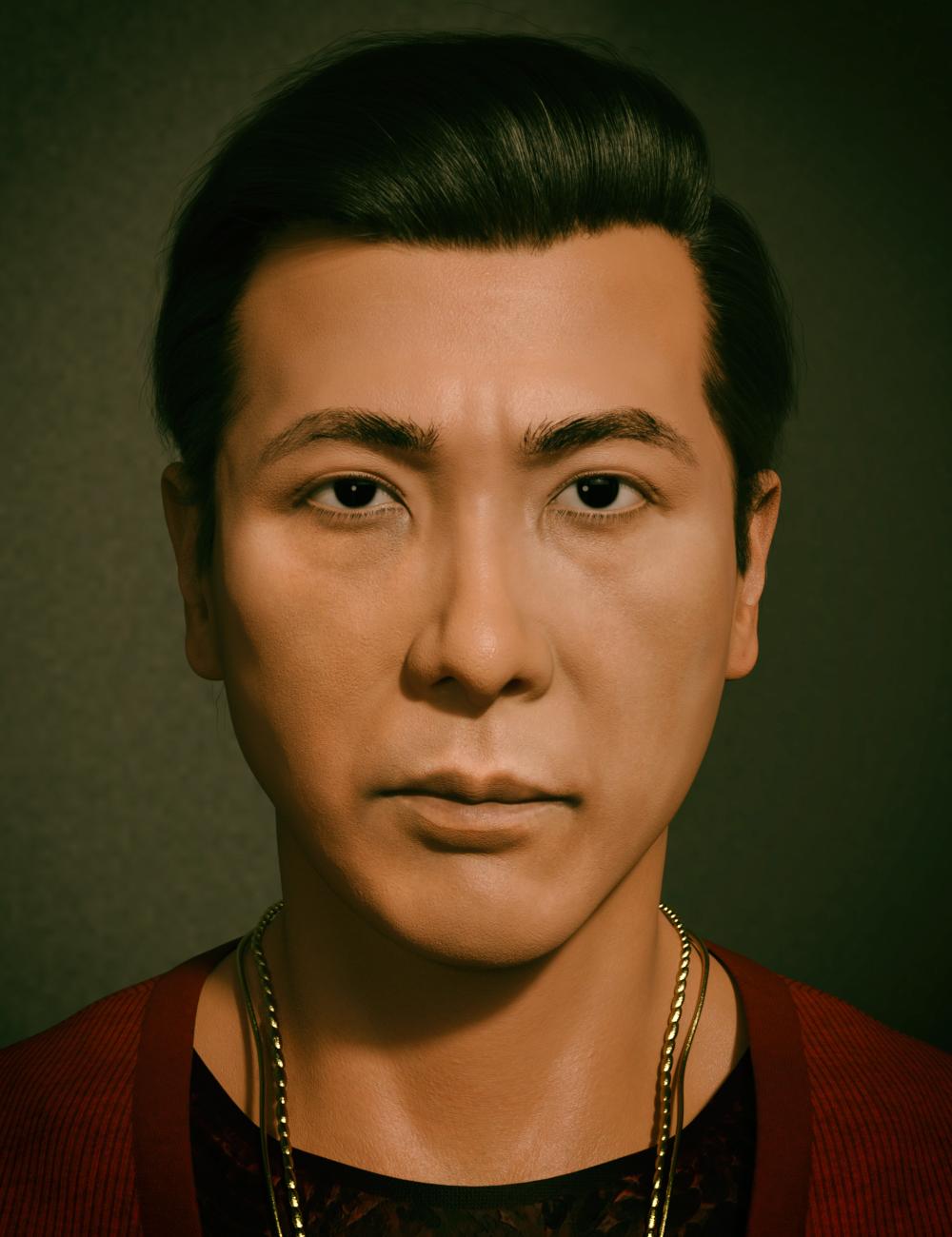 Zhen HD for Genesis 8.1 Male by: Goanna, 3D Models by Daz 3D