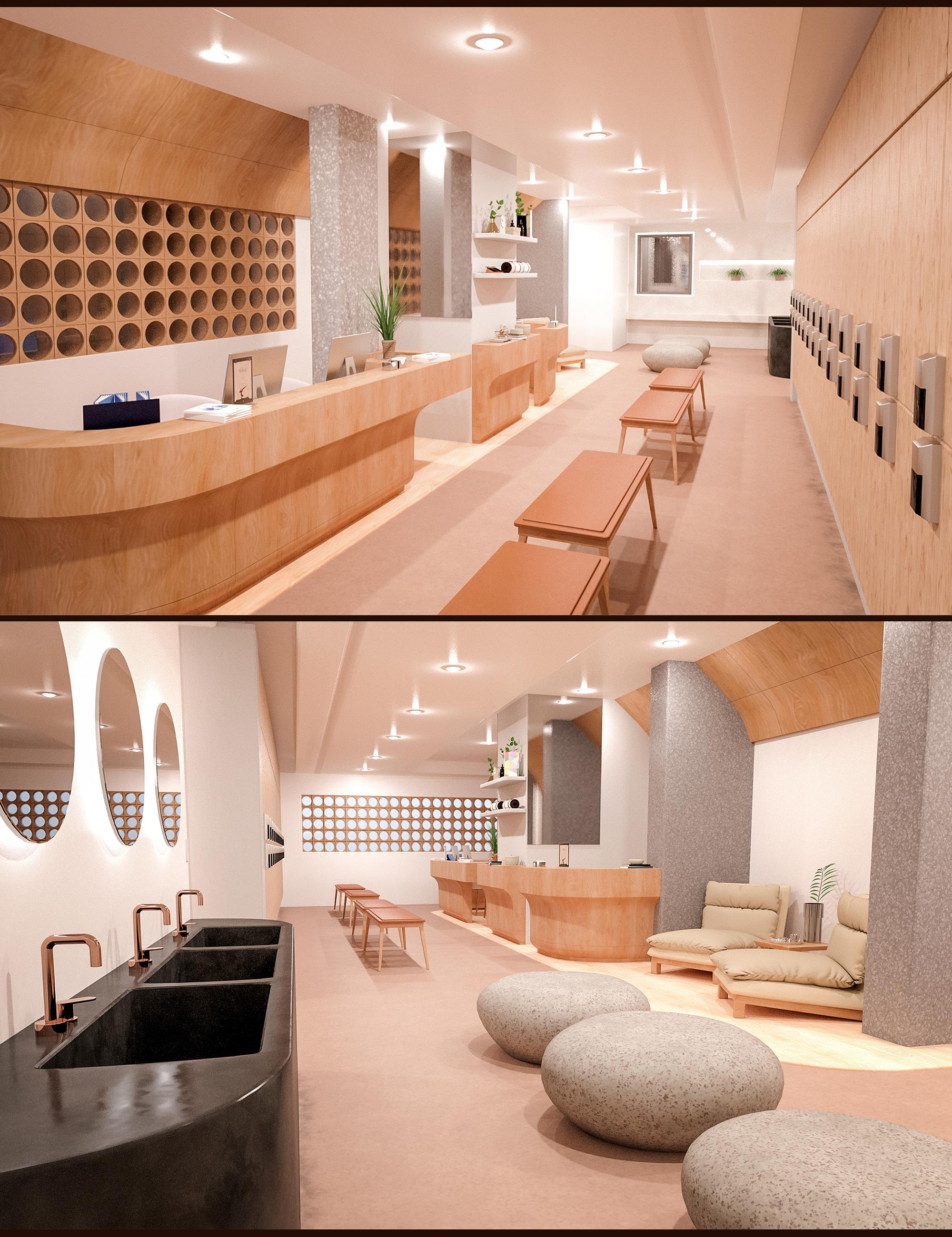 Yoga Club Reception by: Polish, 3D Models by Daz 3D