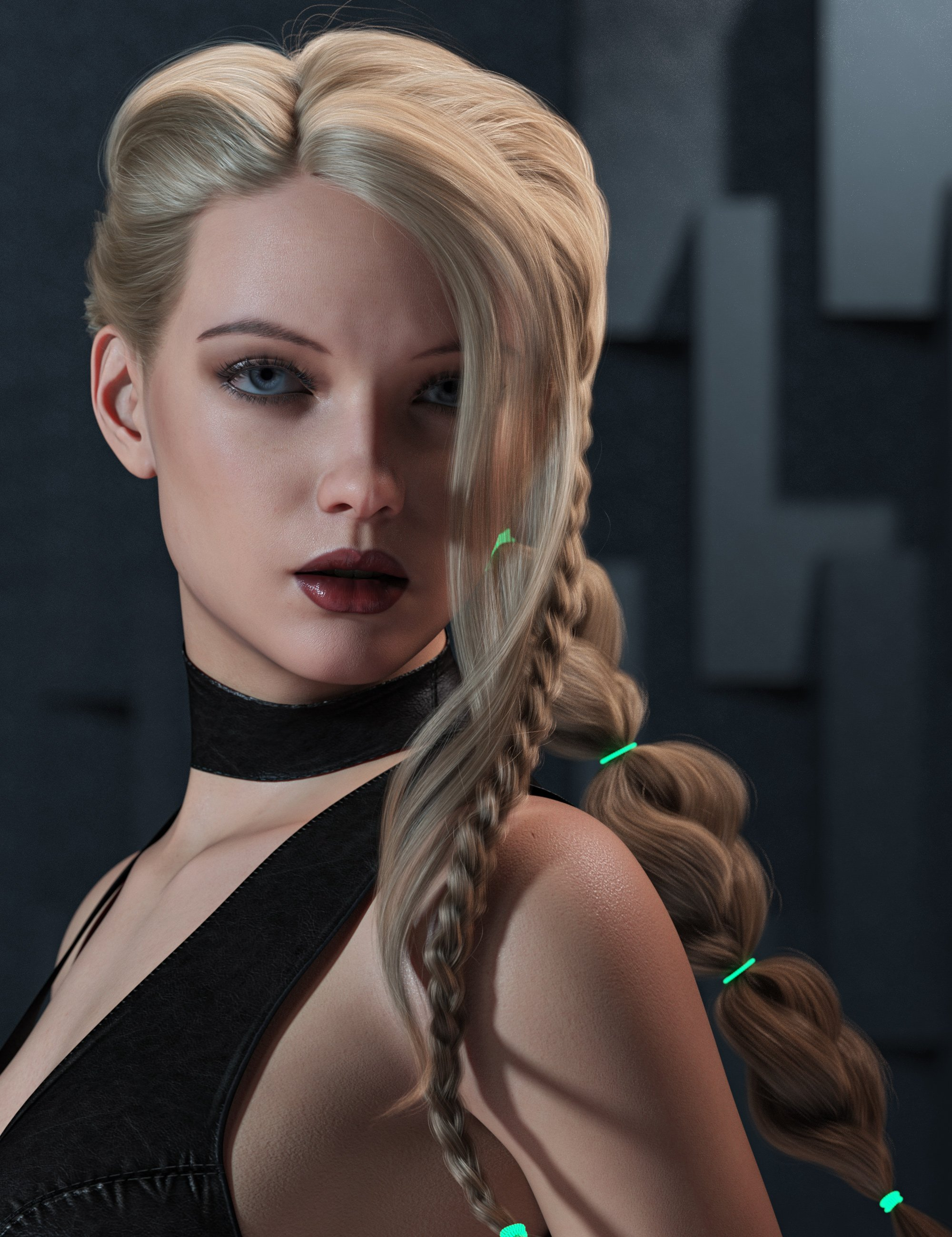 2021-14 Hair for Genesis 8 and 8.1 Females by: outoftouch, 3D Models by Daz 3D