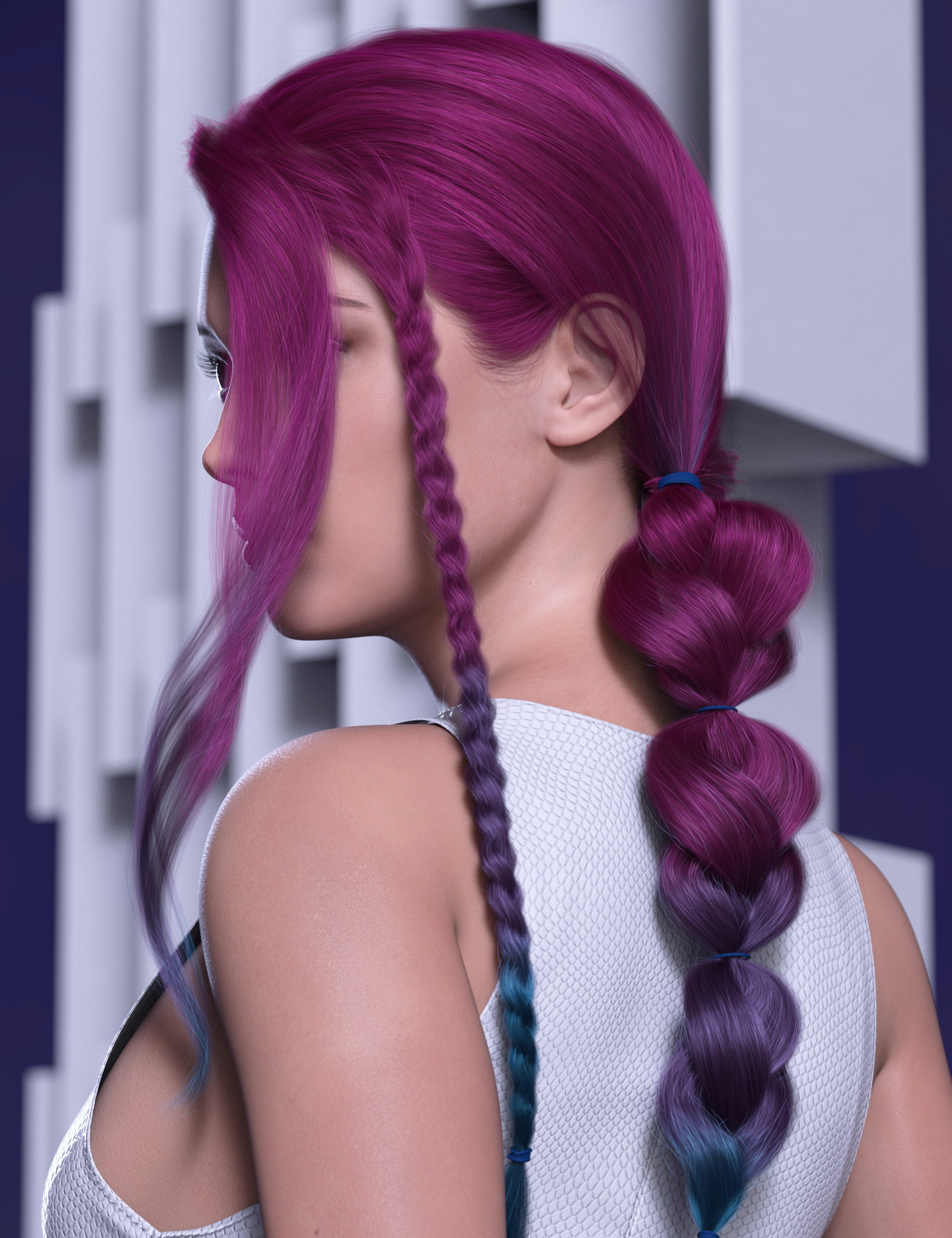 2021-14 Hair Texture Expansion by: outoftouch, 3D Models by Daz 3D