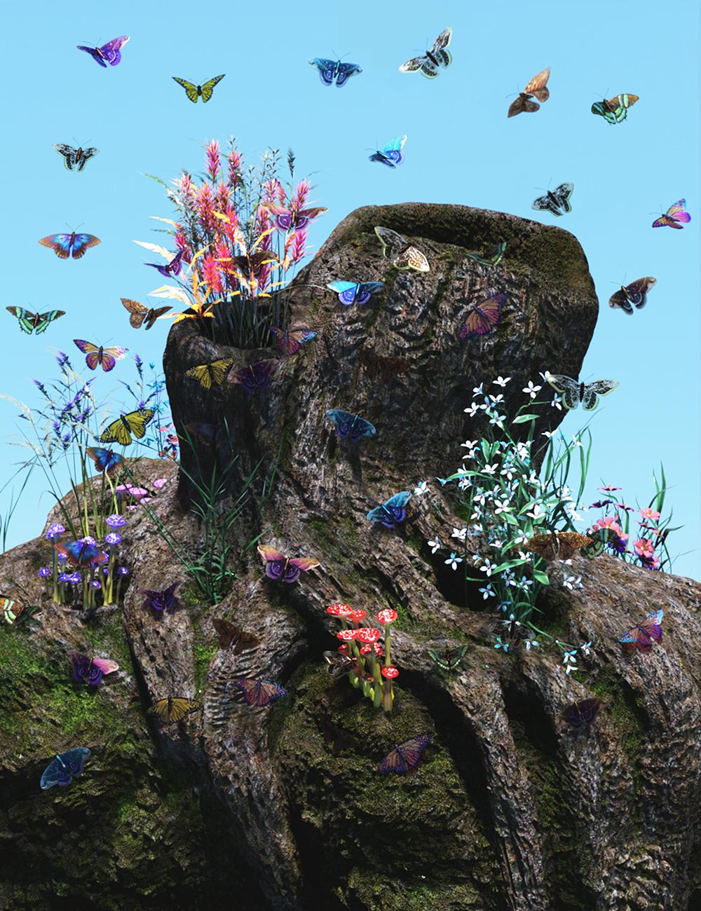 Little Butterfly by: Gendragon3D, 3D Models by Daz 3D