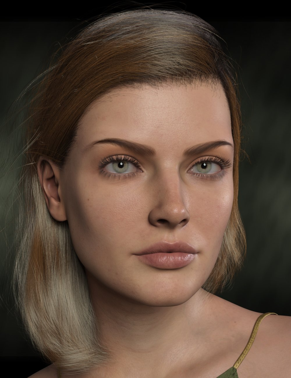 Beautiful Brows II Merchant Resource for Genesis 8 and Genesis 8.1 Females by: chevybabe25, 3D Models by Daz 3D