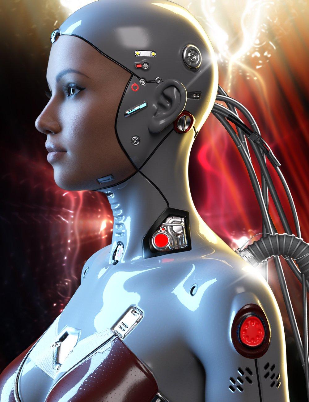 Athena HD Cyborg for Genesis 8.1 Female by: Pixelunashadownet, 3D Models by Daz 3D