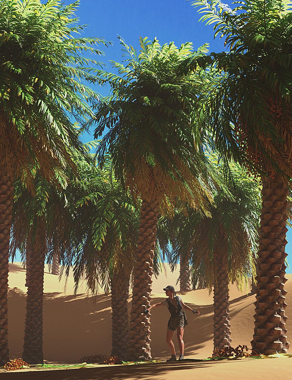 Predatron Date Palm Trees by: Predatron, 3D Models by Daz 3D