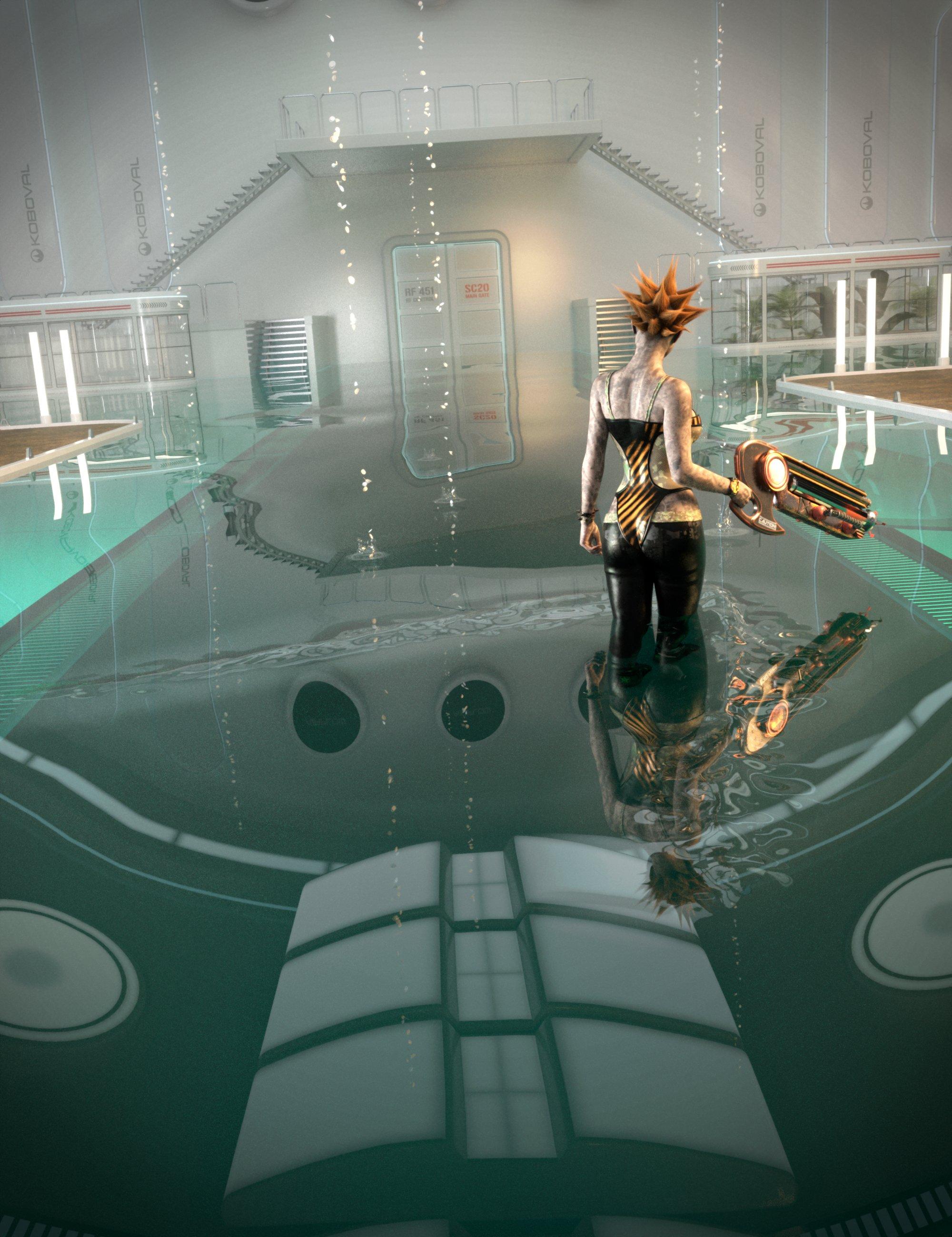 SY Rippling Water Iray by: Sickleyield, 3D Models by Daz 3D