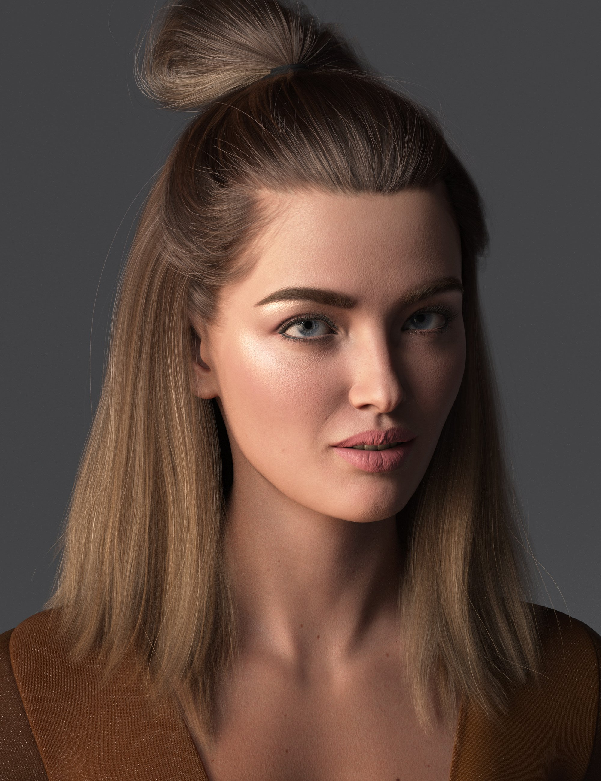 2021-15 Hair for Genesis 8 and 8.1 Females by: outoftouch, 3D Models by Daz 3D