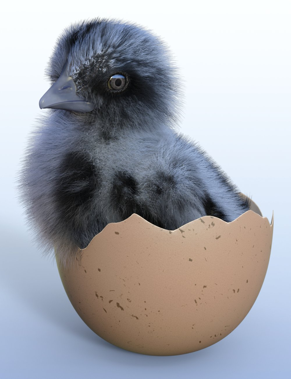 Pip the Chick by: Sylvan, 3D Models by Daz 3D