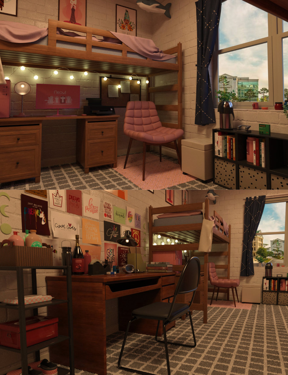 FG College Dormitory by: IronmanFugazi1968, 3D Models by Daz 3D