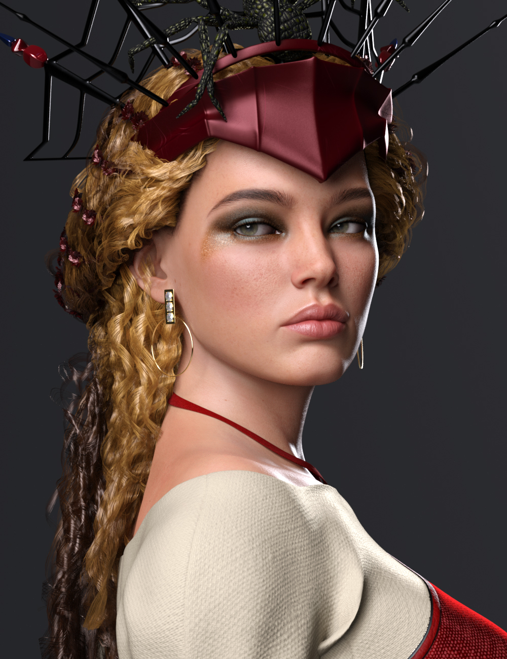 Lucia HD for Genesis 8.1 Female by: Mousso, 3D Models by Daz 3D