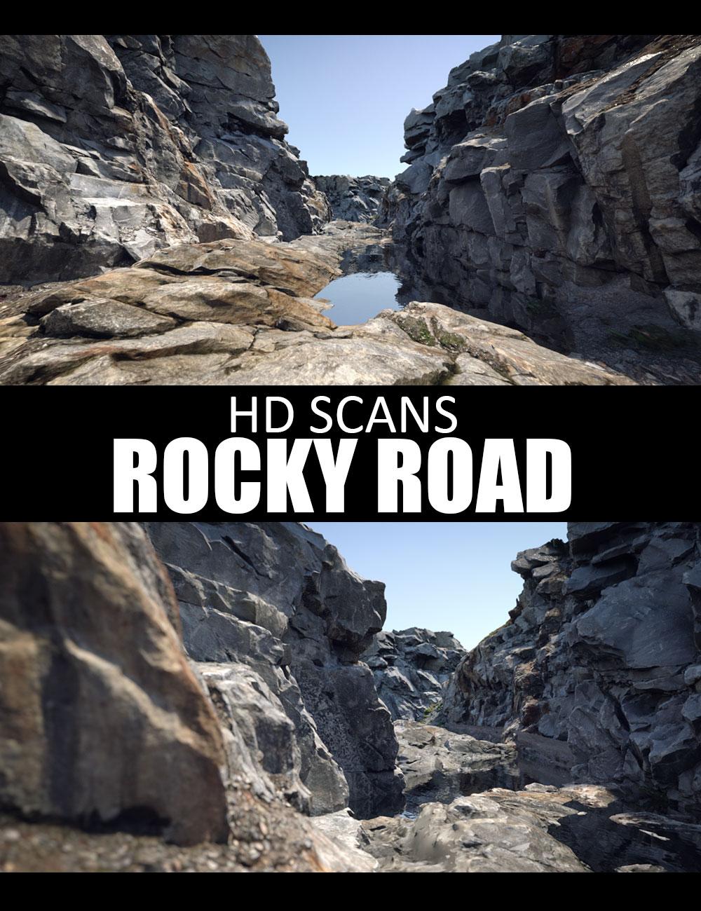 HD Scans Rocky Path by: Dreamlight, 3D Models by Daz 3D