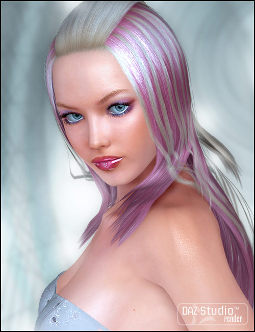 Candy Hair by: , 3D Models by Daz 3D