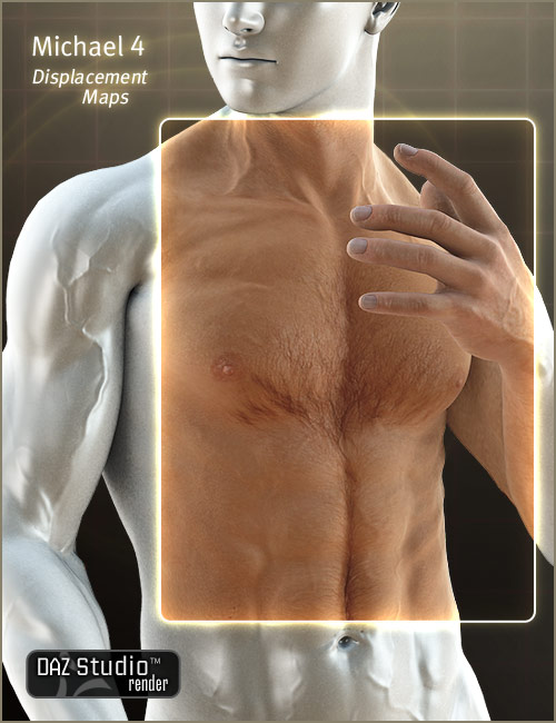 M4 Displacement Maps by: , 3D Models by Daz 3D