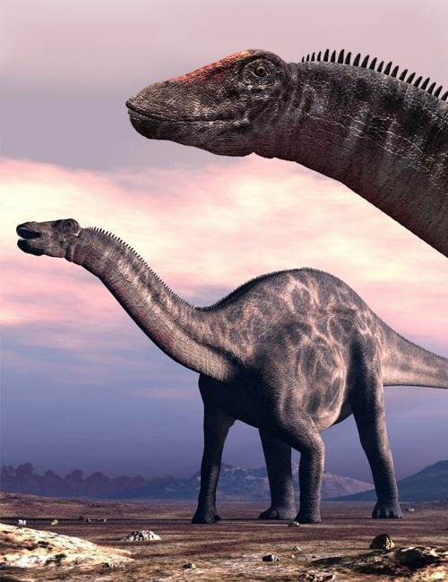 Dicraeosaurus by: , 3D Models by Daz 3D