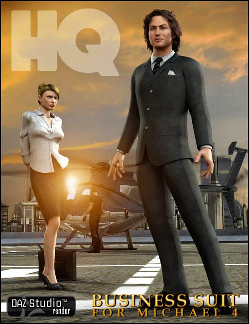 Michael 4 Business Suit by: DianePredatron, 3D Models by Daz 3D