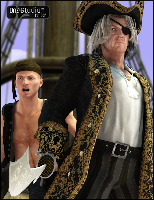William Kidd by: , 3D Models by Daz 3D