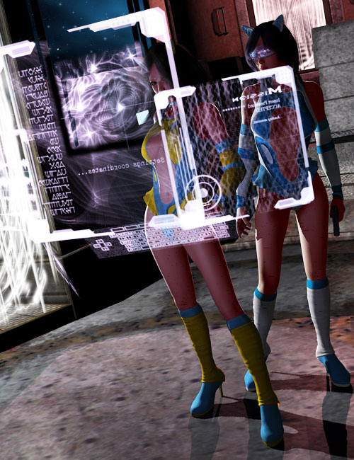 Hero FX Exp Sci Fi by: macelene, 3D Models by Daz 3D