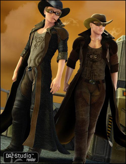 Steam Cowboy by: ArienBarbara Brundon, 3D Models by Daz 3D