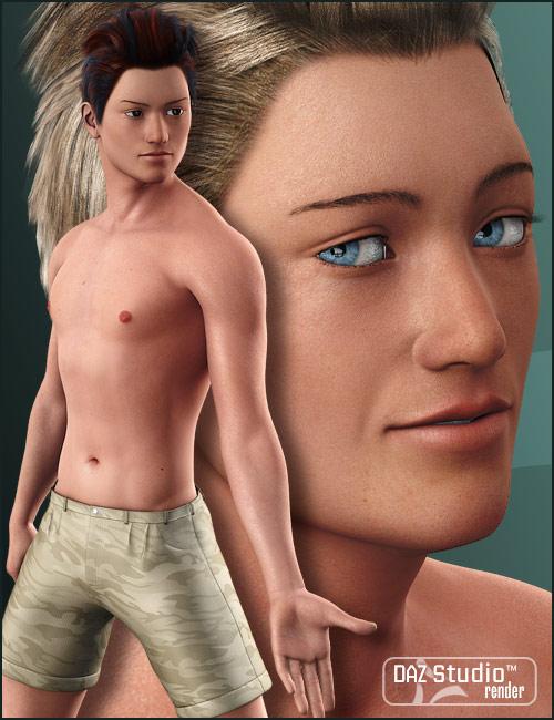 Hiro 4 Realistic Textures by: Morris, 3D Models by Daz 3D