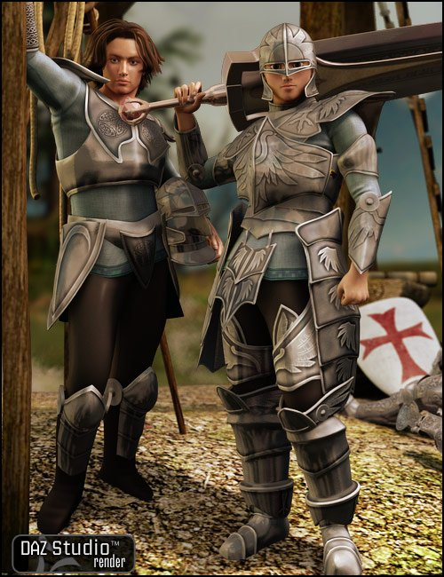 Lord of Battles for M4 and Hiro 4 by: Valandar, 3D Models by Daz 3D